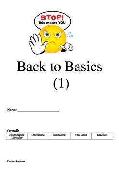 Back to Basics (1) - Run On Sentences