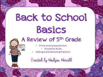 Back to Basics 6th Grade