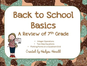 Back to Basics 8th Grade