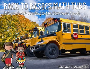 Back to Basics BUNDLE- Math & Literacy Activities for the Beginning of 1st Grade