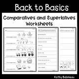 Comparatives and Superlatives Worksheets