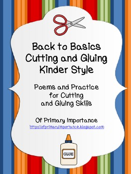 Back to Basics: Cutting and Gluing Kinder Style