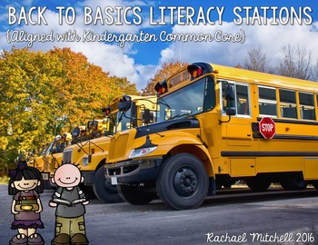 Back to Basics- Literacy Activities for the Beginning of First Grade
