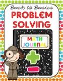 Back to Basics Problem Solving Unit