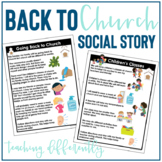 Back to Church Social Story