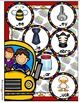 Back to Class Beginning Sounds File Folder Game