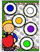 Back to Class Colors File Folder Game