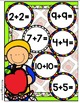 Back to Class Doubles Addition File Folder Game