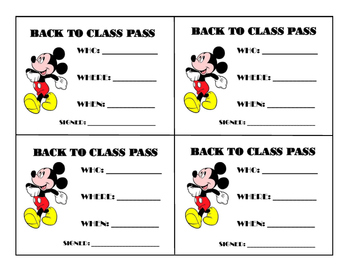 Back to Class Pass
