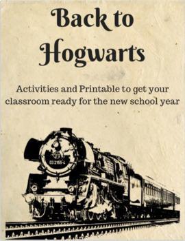Back to Hogwarts - FREEBIE