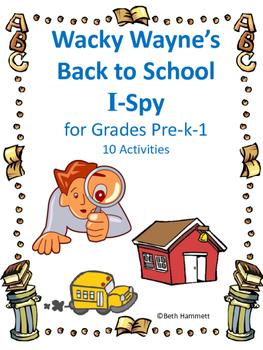 Back to SchooI I-Spy