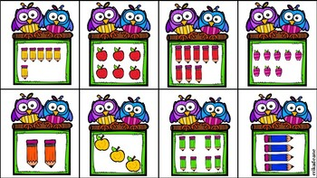 Back to School 1-10 Ten Frame Math Around the Room! Owl Theme