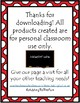 Back to School 1-20 Matching Cards