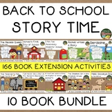 Back to School 10 Book Bundle Elementary Over 150 Extensio