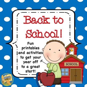 Back to School Activities - 10 activities to start the yea