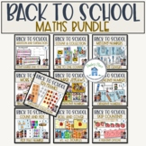 Back to School Math Task Bundle