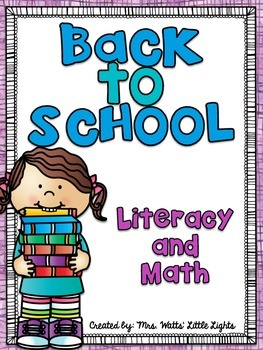 Back to School Literacy and Math