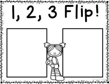 Back to School 1,2,3 FLIP Game!