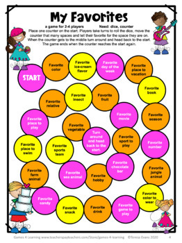 Free First Day of School Activities - Getting to Know You Games