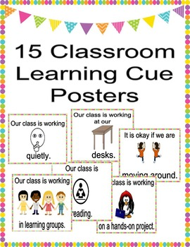 Back to School: 15 Classroom Learning Cue Posters