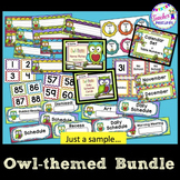 Classroom Decor- Owl Theme
