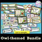 Classroom Decor | Owl Theme