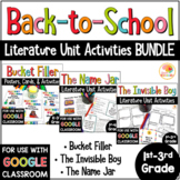 Back to School Picture Book BUNDLE