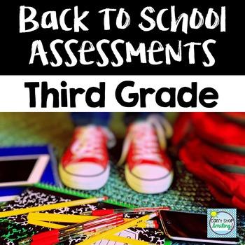 Back to School Assessment 3rd Grade