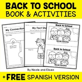 Mini Book and Activities - Back to School