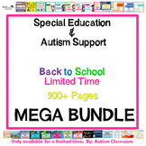 MEGA Bundle - Autism & Special Education Back to School Kit (Limited Time Offer)