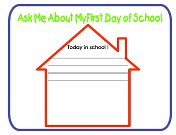 Back to School- First Day of School Badges