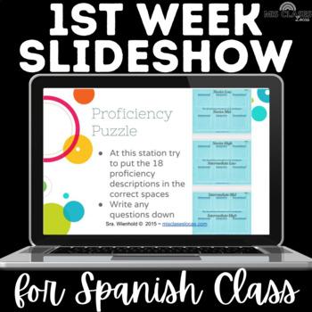 Back to School: 1st Week Slideshow