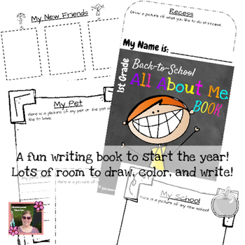 Back to School 1st grade (First) Kit {Brochure, Presentation, and More +)