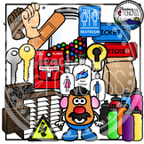 Back to School Supplies Clipart 2 (School Clipart)