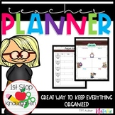 Back to School: 2018 - 2019 Ultimate Teacher Planner/Binder (Editable)