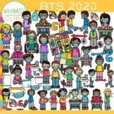 Back-to-School 2020 and 2021 Clip Art {Covid-19 Safety Pro