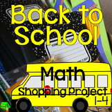 Back to School Math Project