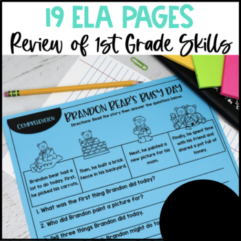 Back to School: 2nd Grade {Print and Go}