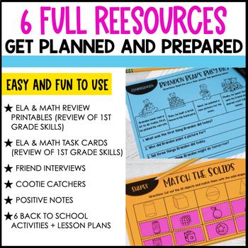 Back to School 2nd Grade MEGA Bundle