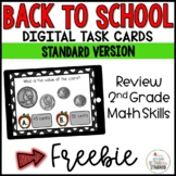 Back to School 2nd Grade Math Review Boom Cards