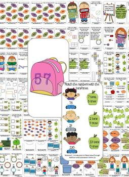 Back to School: 2nd Grade Task Cards and Journal (Math)
