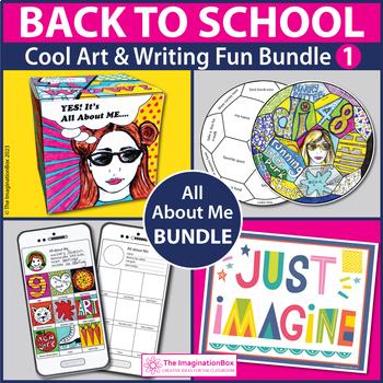 Back to School 3 Art Projects Bundle - Creative Activities, Posters, Garlands