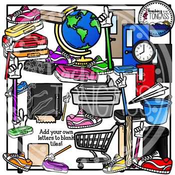 Back to School Supplies Clipart 3 (School Clipart)