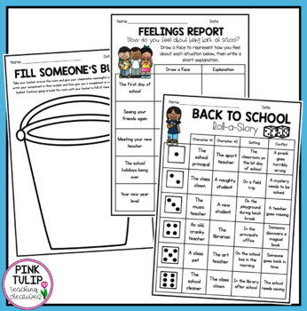 Back to School - 30 Page Activity Pack