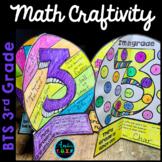 Back to School 3rd Grade Activities FREEBIE | Math Craftivity