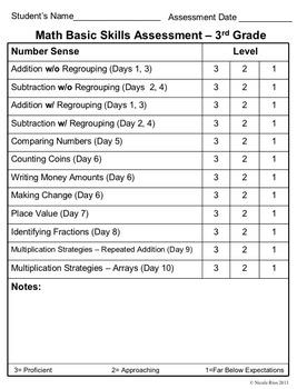 Back to School - 3rd Grade Activity Journal