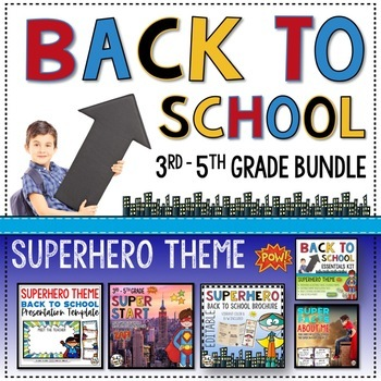 Back to School 3rd Grade Bundle