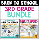 Back to School: 3rd Grade Bundle