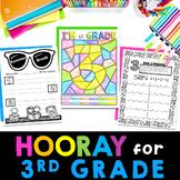 Back to School 3rd Grade | First Week of School Third Grade activities