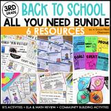 Back to School: 3rd Grade MEGA Bundle